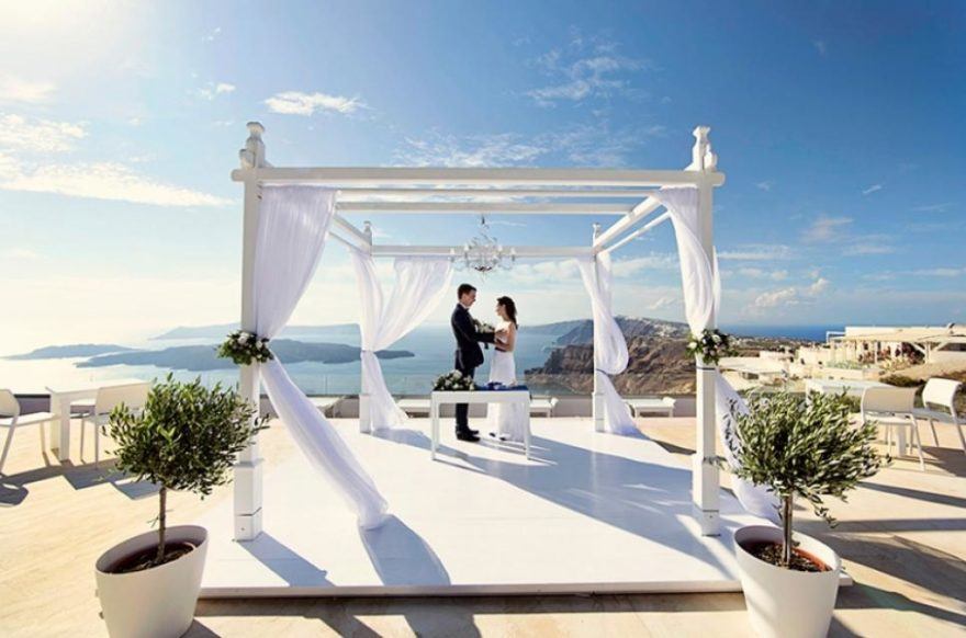 Wedding ceremony with Greek Dream Planners | Confetti.co.uk