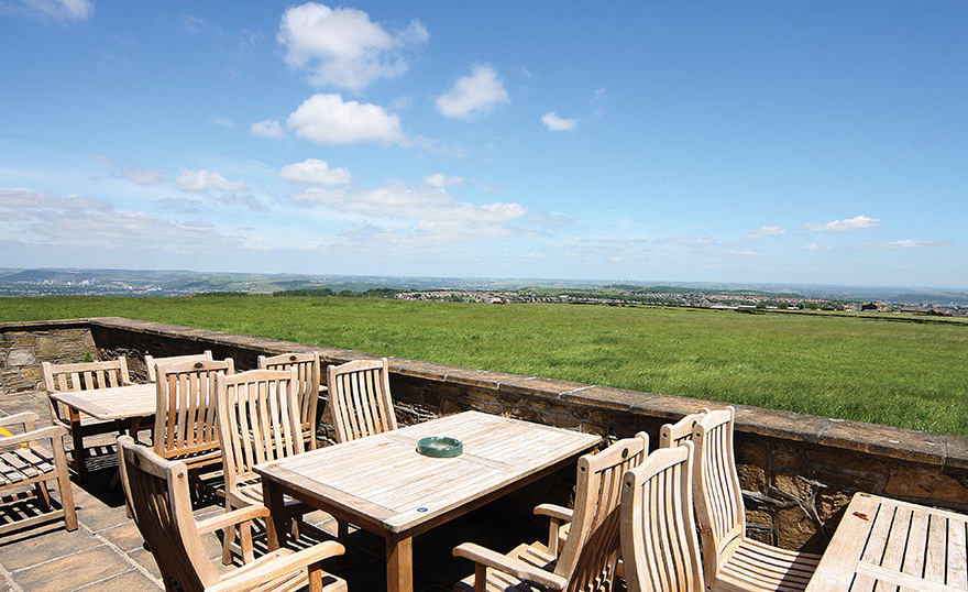 Pennine Manor Terrace Looking Over the Countryside | Confetti.co.uk