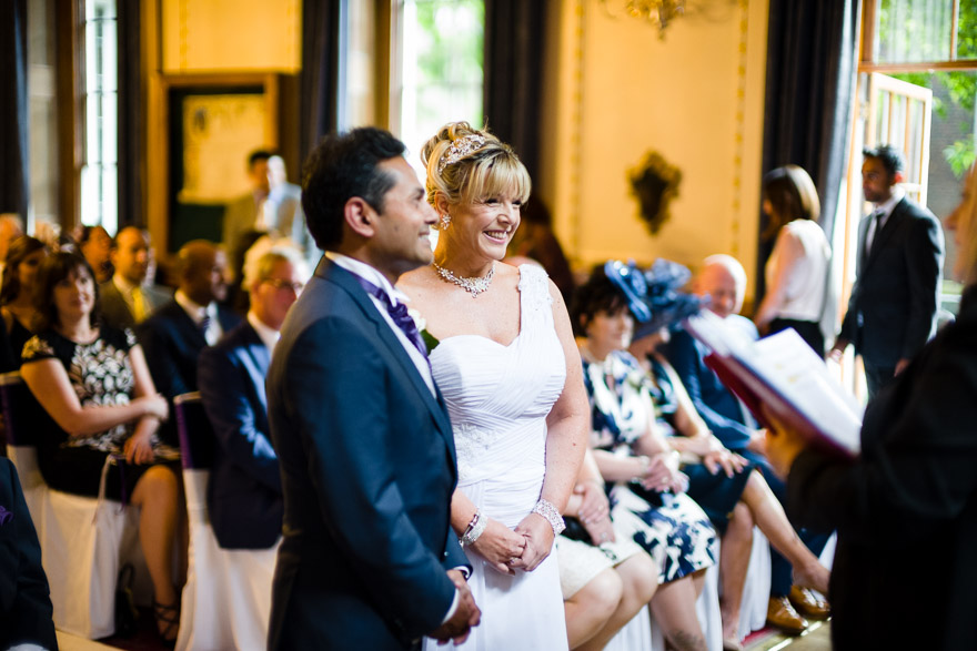 Elizabeth and Pinak's Indian and English fusion wedding by Douglas Fry | Confetti.couk