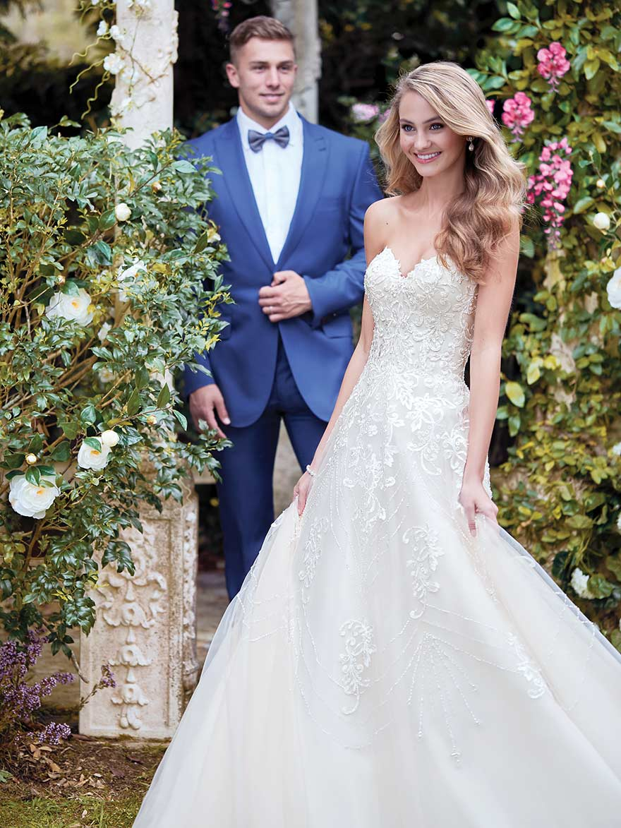 Edith by Rebecca Ingram at Maggie Sottero Designs | Confetti.co.uk