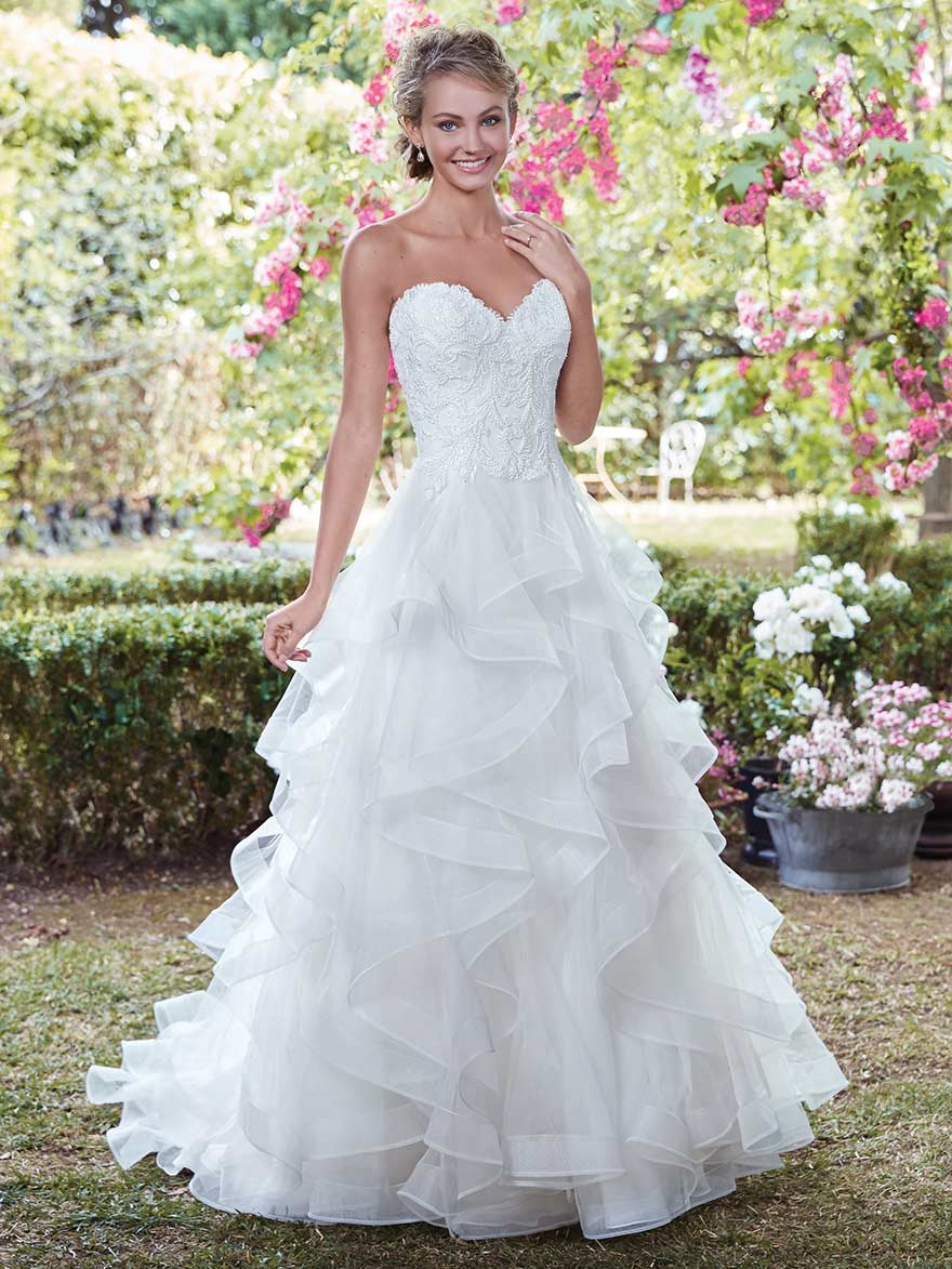 Grace by Rebecca Ingram at Maggie Sottero Designs | Confetti.co.uk