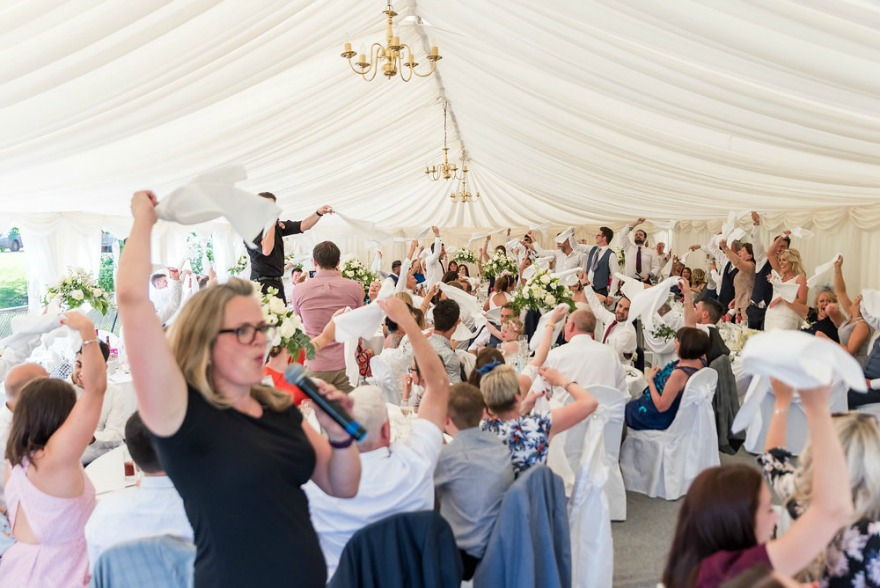 Unique wedding entertainment by The Singing Waiter Masters | Confetti.co.uk