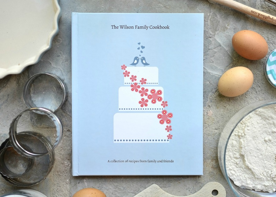 Recipe Gift Book | Confetti.co.uk