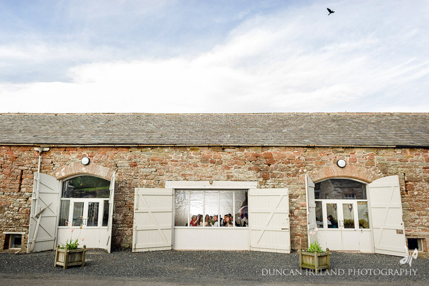 Bank Barn at Askham Hall in the Lake District by Duncan Ireland Photography | Confetti.co.uk