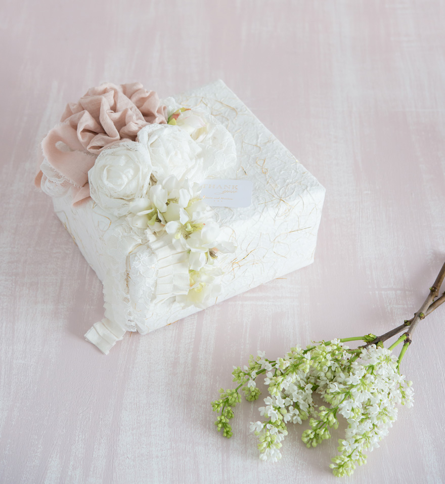 DIY Pretty Packaging Gift Wrapping | Confetti.co.uk