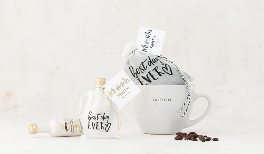 Gift Tea Coffee Mug Wedding Favours | Confetti.co.uk