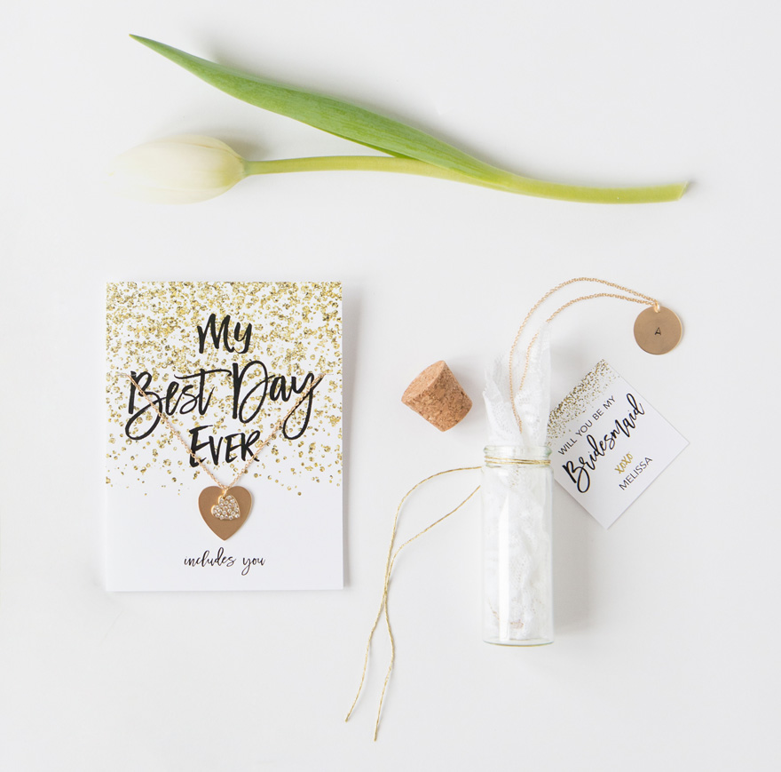 Message in a Bottle diy pretty packages for your bridesmaids | Confetti.co.uk
