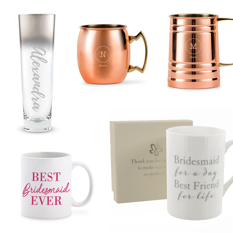 Personalised Mugs Steins and Toasting Flutes | Confetti.co.uk