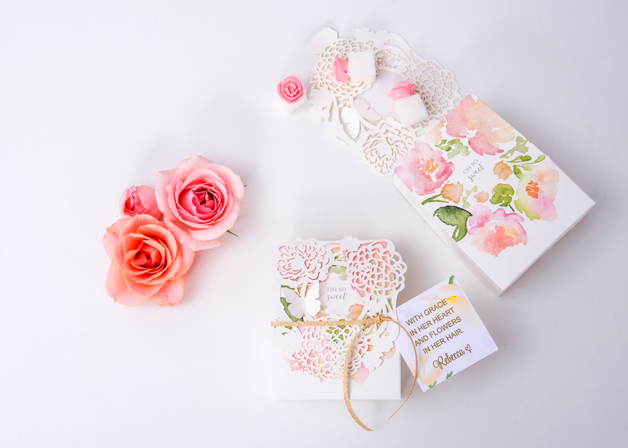 Wedding favours - Win Your Dream Wedding 2018