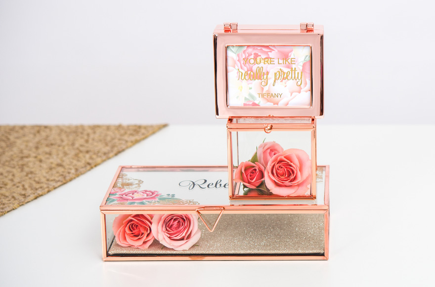 Rose Gold Jewellery Boxes | Confetti.co.uk