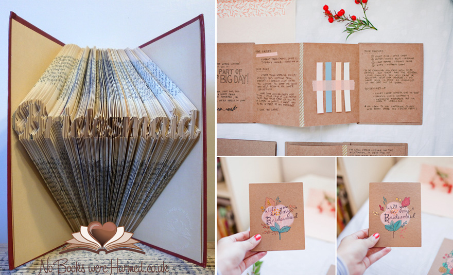 Will You Be My Bridesmaid Books and Booklets | Confetti.co.uk