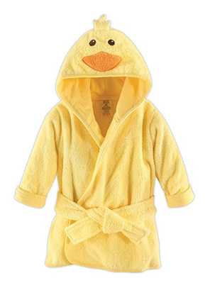 Yellow Duck Hooded Bathrobe and Dressing Gown | Confetti.co.uk