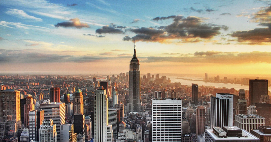Tinggly Gift Experiences - Experience New York Your Way Honeymoon - New York City Skyline with Empire State Building   Confetti.co.uk