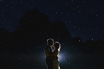 Under the Stars - Rachele and Luke's Outdoor Country Garden Wedding in Norfolk by Miki Photography | Confetti.co.uk