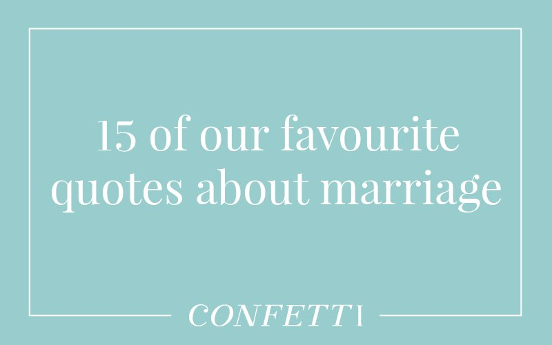 15 marriage quotes