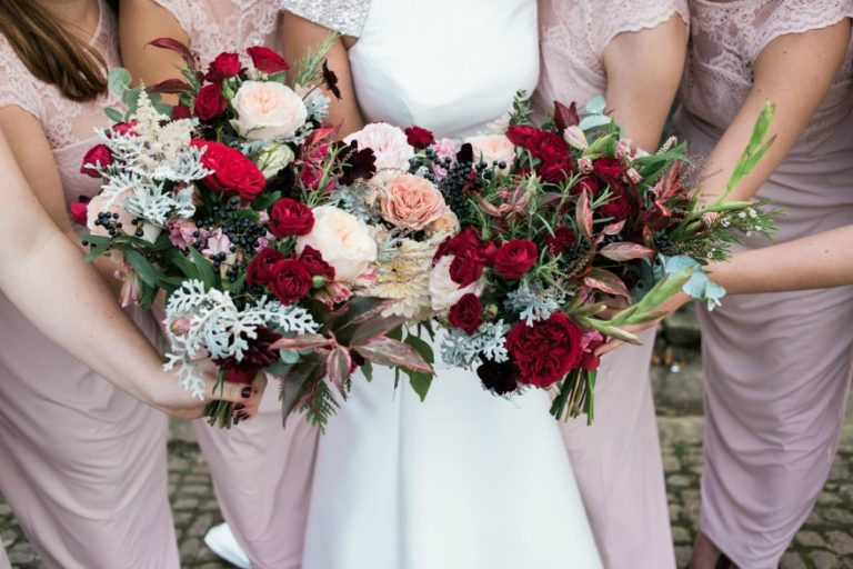 Bridal bouquets by Charlotte Elizabeth Bespoke Flowers | Confetti.co.uk