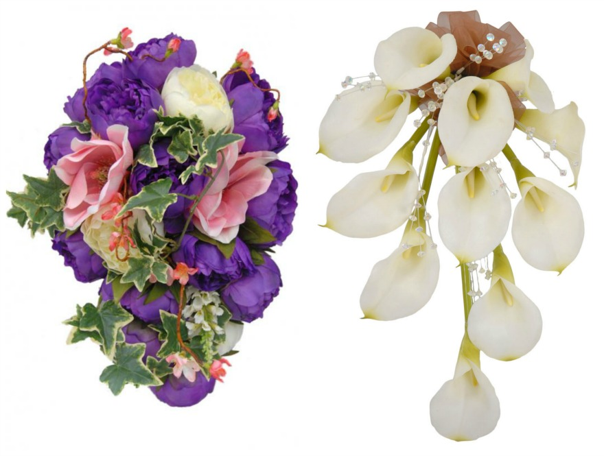 Artificial bridal bouquets by Sarah's Flowers | Confetti.co.uk