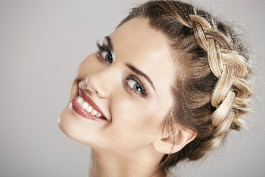 Braided hairstyles for guests at weddings | Confetti.co.uk