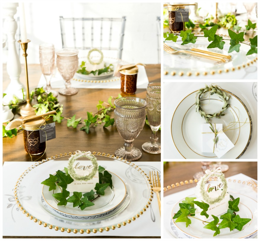 Natural wedding table decorations | Confetti.co.uk