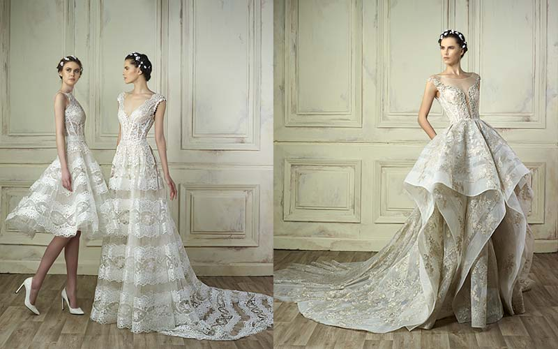 Bridal gowns by Gemy Maalouf