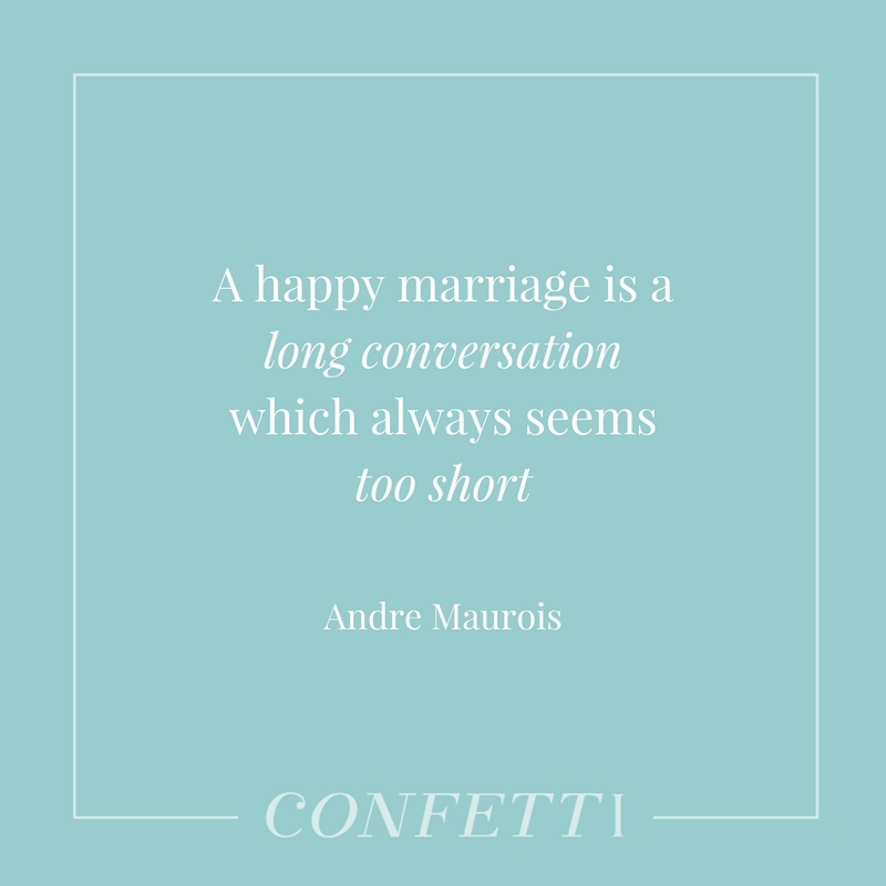 Andre Maurois quote about marriage