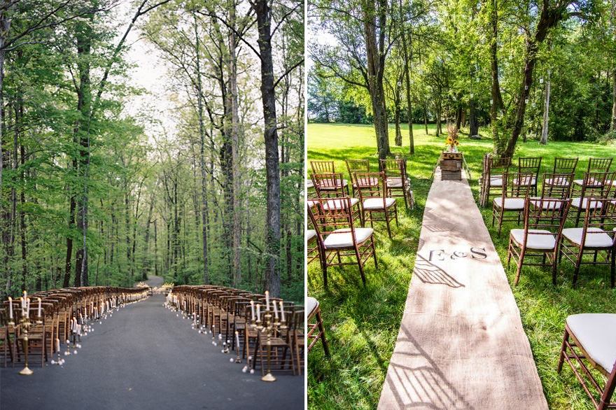 Endor Style Star Wars Woodland Wedding - Including Spring RT Lodge Maryville Tennessee Wedding by Clark Brewer | Confetti.co.uk