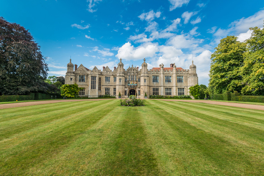 Hengrave Hall Historic Tudor Mansion Wedding Venue in Suffolk, England - Grand Manor House with Views Over Green Lawns | Confetti.co.uk