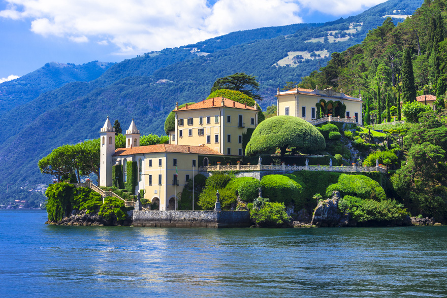 Lake Como - Lombardy - Italy - Beautiful Italian Lakes - Lakeside Italian Villa | Confetti.co.uk
