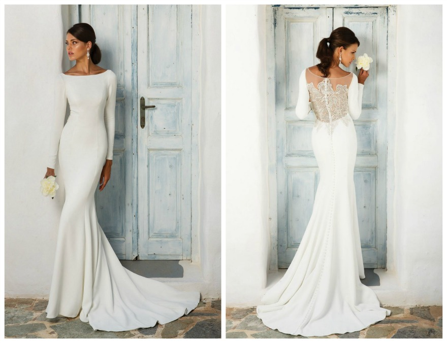 Meghan Markle's wedding dress style 8396 by Justin Alexander | Confetti.co.uk