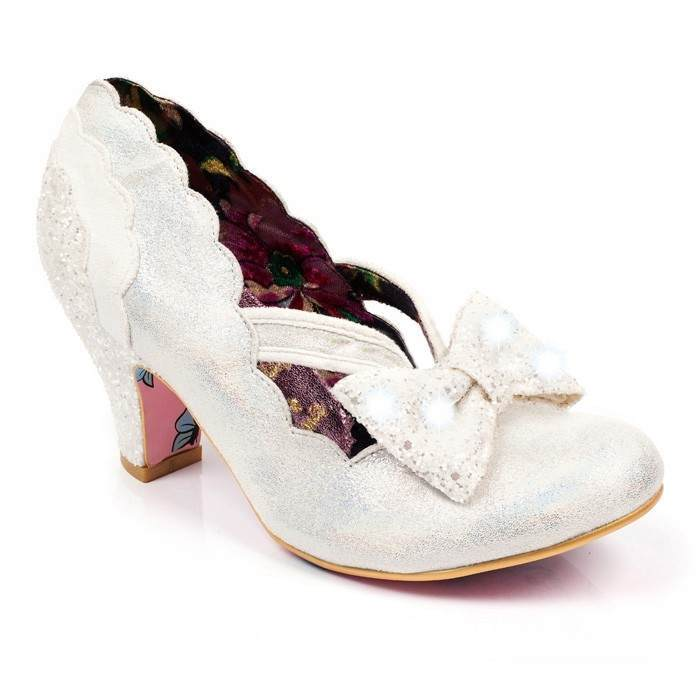 Silver bridesmaid shoes Twinkle by Irregular Choice | Confetti.co.uk