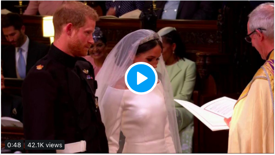 Harry and Meghan husband and wife