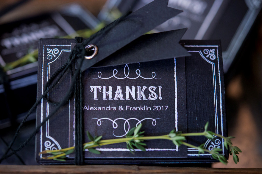 Chalkboard Favour Box Kits - Black and White Chalkboard Wedding Favour Boxes | Confetti.co.uk