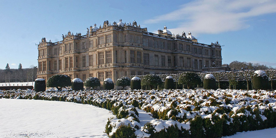 Longleat House in Winter - Grade I Elizabethan Mansion - Incredible Country House Wedding Venues in the UK | Confetti.co.uk