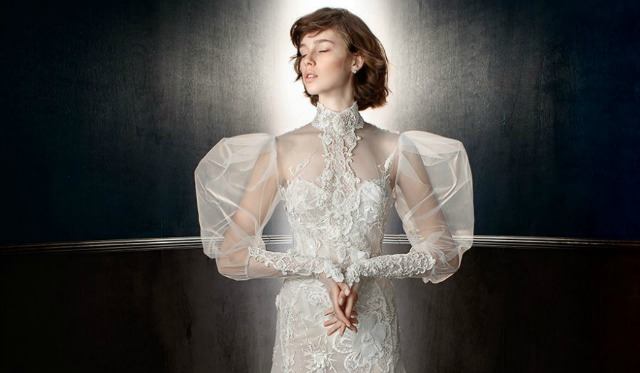 Wedding dress with sleeves by Galia Lahav | Confetti.co.uk