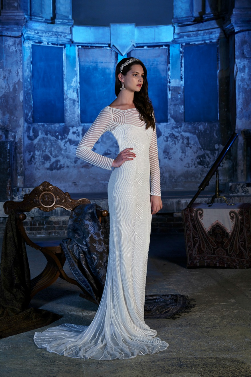 Wedding dresses with sleeves by Eliza Jane Howell | Confetti.co.uk