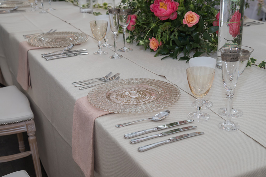 Beautiful Wedding Reception Table Ideas - Place Setting Ideas - Summer Wedding Place Settings - Vintage Wedding Tables | Confetti.co.uk