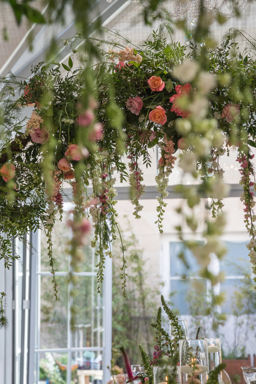 Rose Arch - Wedding Arch - Floral Arch - Floral Wedding Arch - Hanging Flowers Arch | Confetti.co.uk