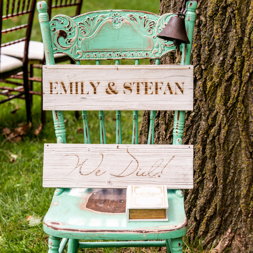 Vintage Inspired Wooden Multi-Purpose Sign Boards - DIY Wedding Signs | Confetti.co.uk