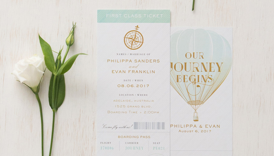 Vintage Wedding Invitations - 15 Beautiful Examples Thumbnail | Confetti.co.uk