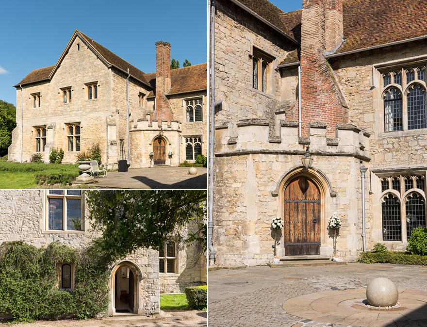 Beautiful Abbey Wedding Venues in the UK - Medieval Wedding Venues - Notley Abbey | Confetti.co.uk