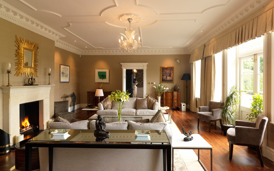 Delamere Manor Drawing Room - Get Married at Gary Barlow's Old Home | Confetti.co.uk