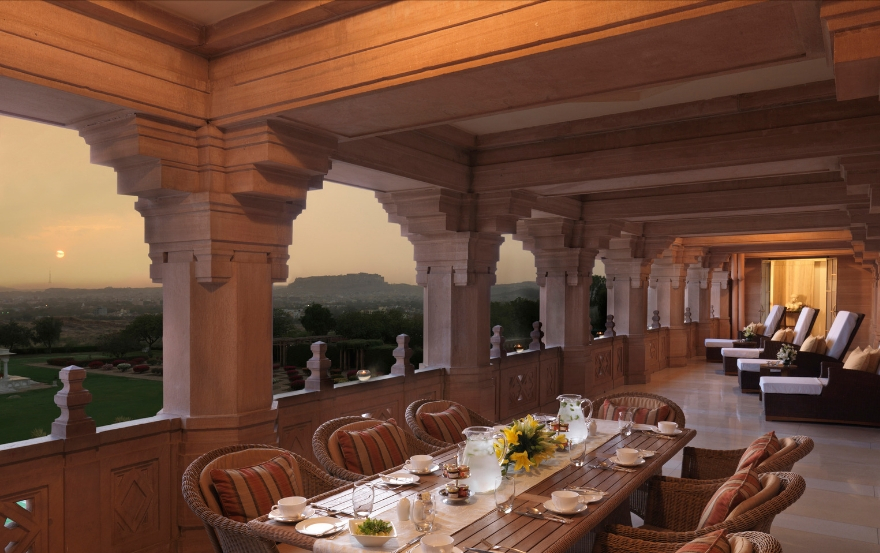 Maharani Suite Terrace