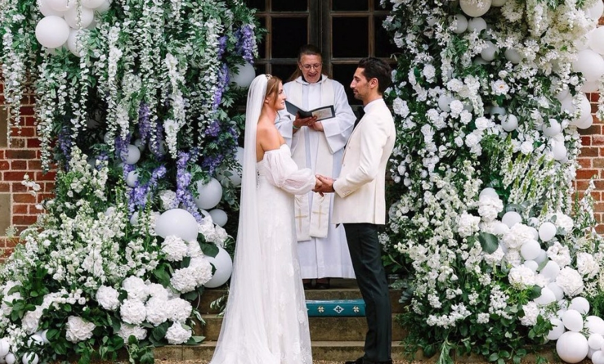 Millie Mackintosh wedding photo