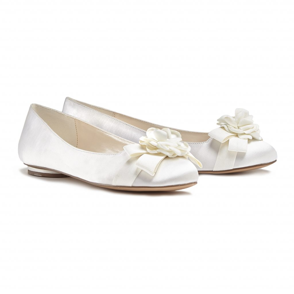 Haydyn Flat Wedding Shoe