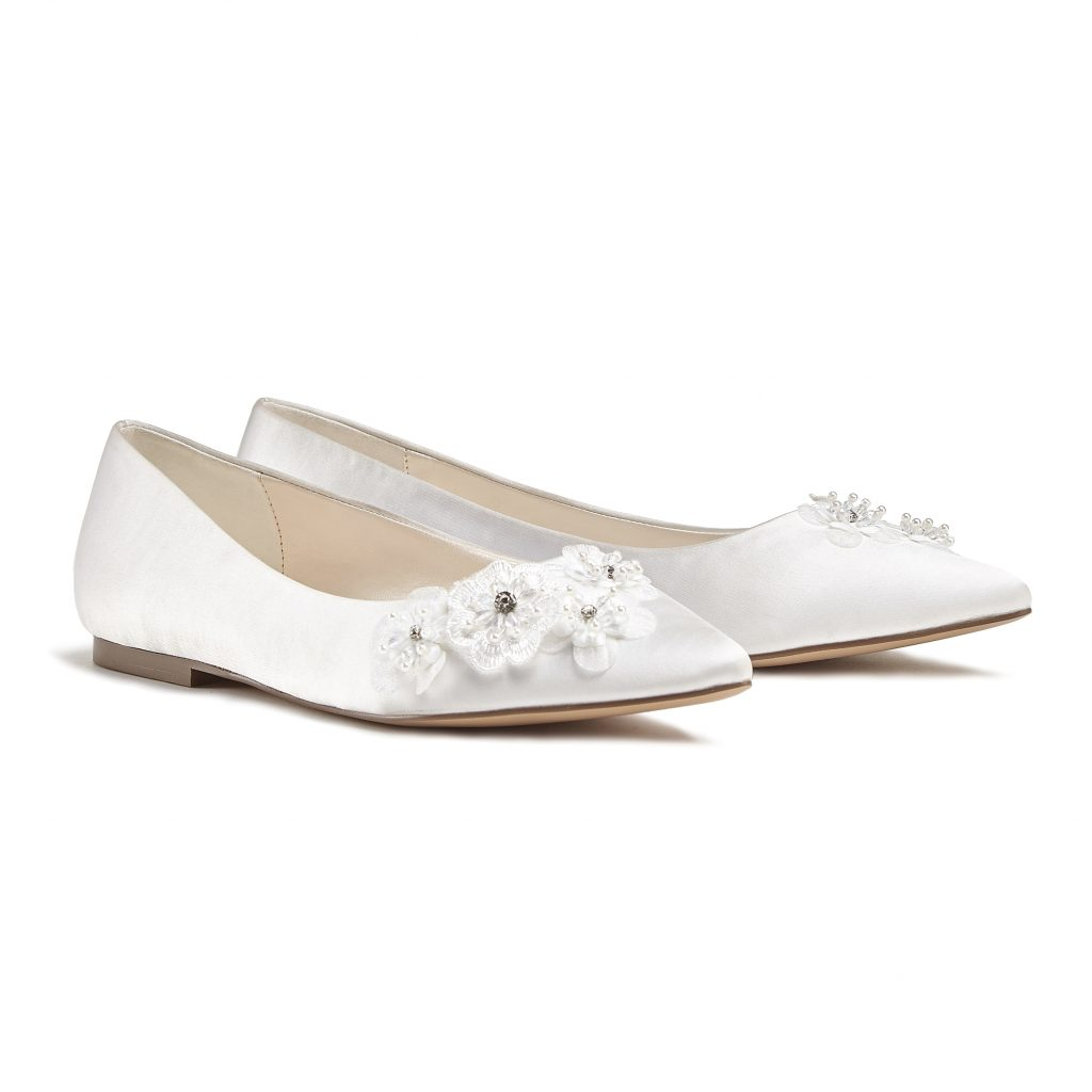 Lauretta Flat wedding shoes