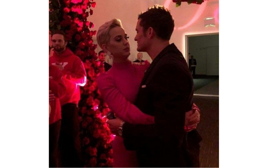 Katy Perry and Orlando Bloom Celebrate Valentine's Day by GETTING ENGAGED