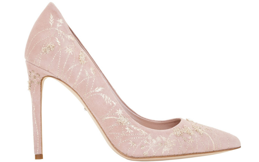 pink-and-gold-wedding-shoes
