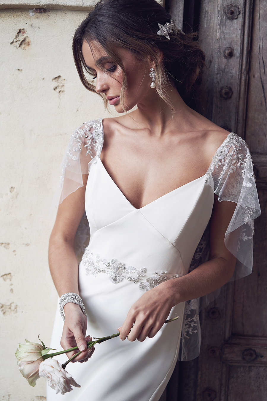sheer-sleeve-wedding-dress