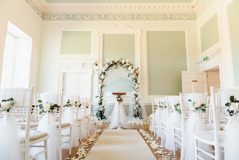 white-and-green-wedding-arch
