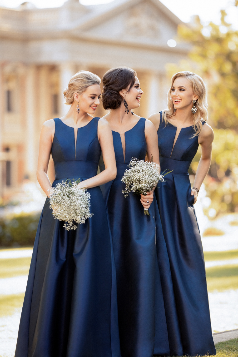 dark-blue-winter-bridesmaid-dresses